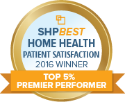 SHPBest 2016 HHCAHPS Top 5 Percent