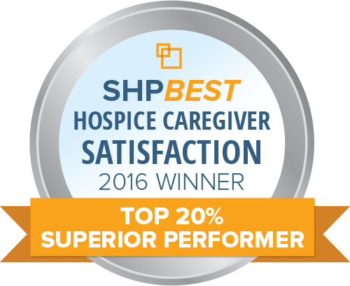 SHPBest 2016 CAHPS Hospice Top 20 Percent