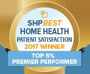 SHP Best 2017 HHCAHPS Top 5 Percent
