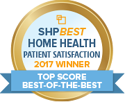 SHP Best 2017 HHCAHPS Top Score