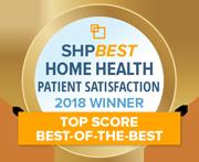 SHPBest 2018 HHCAHPS Top Score